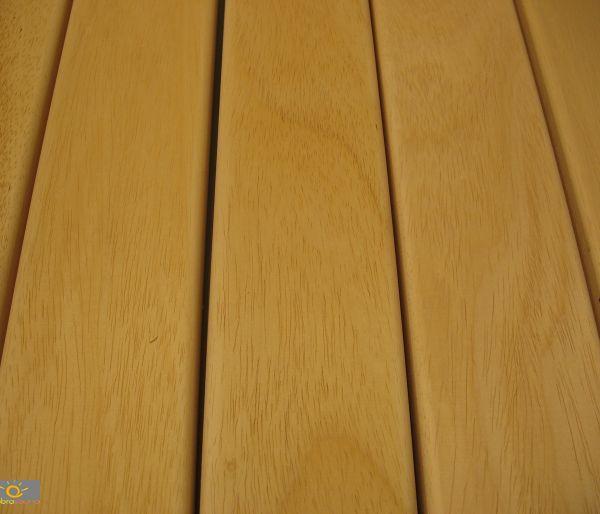 Drewno do budowy sauny Abachi - listwa 80 x 22 mm