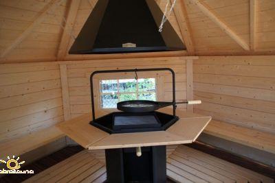 Grill do chaty lub domku Stoveman (Grillhouse)